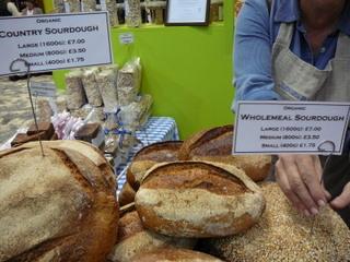 Judges bread stall