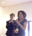 Jill Dupliex accepting her award