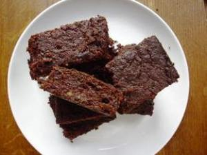 Beetroot, (chocolate and raw cocoa) brownies