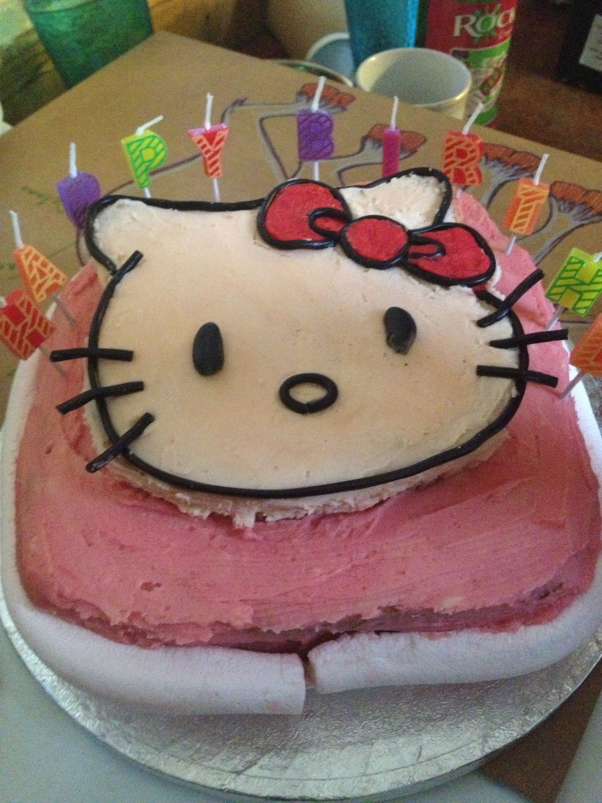 Hello Kitty Cake Real Food Lover