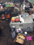 Field kitchen Rising Up camp