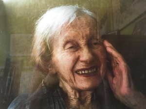 My mother Fay Winkler a few months before she died aged 93.5