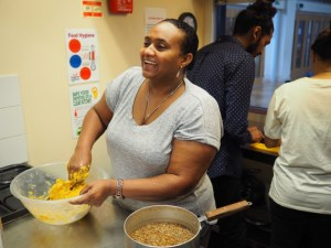 Ethiopian vegan cooking in action with Migrateful